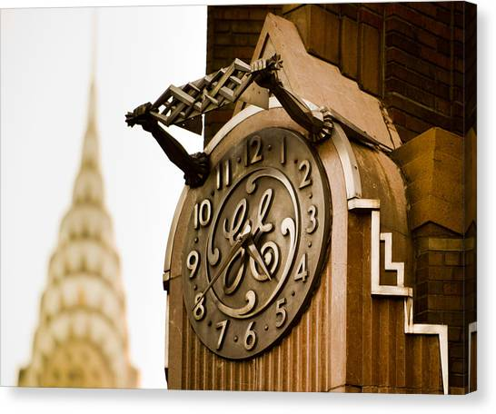 General Electric Building 2 Canvas Print