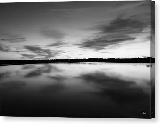 Peaceful Sunset Canvas Print by Thomas Leon