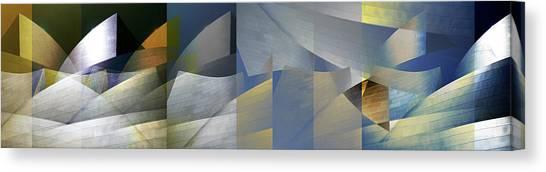 Los Angeles California Canvas Print - Geary 3 by David Jordan Williams