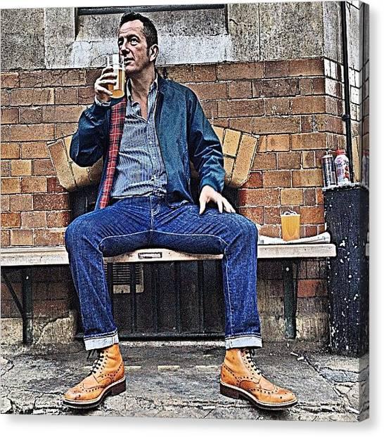 Hammers Canvas Print - Geezer. #style #effortless #fashion by Alex Nisbett