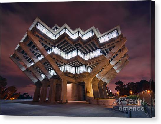 Geisel Library Canvas Print