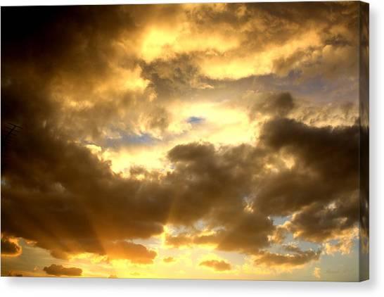 Gelato Sky Canvas Print
