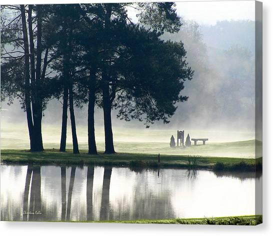 Golf Course Canvas Print - Genegantslet Golf Club by Christina Rollo