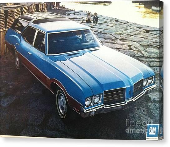 General Motors Posters Canvas Print
