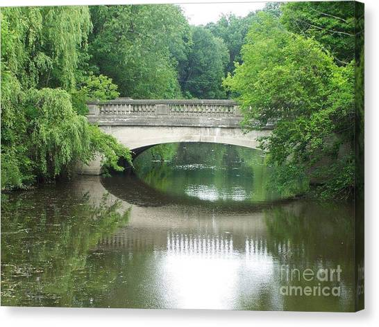 Genesee Valley Bridge Canvas Print