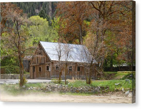 Genoa Barn Canvas Print
