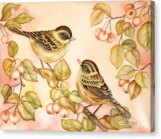 Gentle Couple Canvas Print