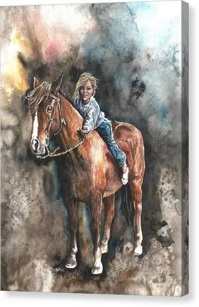 Gentle Friend Canvas Print