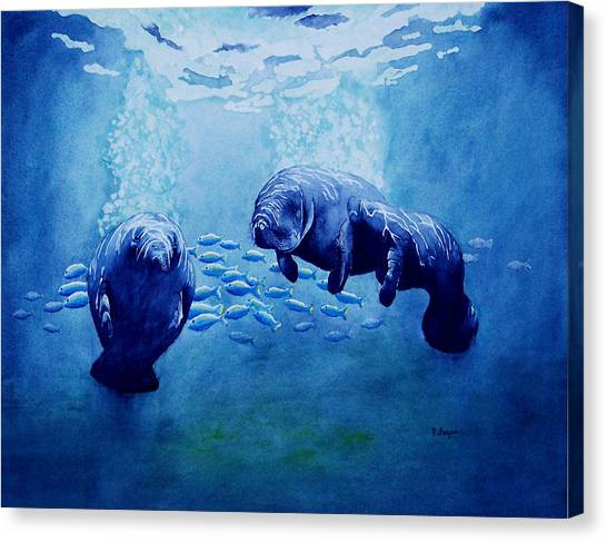 Gentle Giants Canvas Print