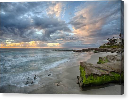 Gentle Sunset Canvas Print