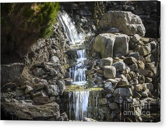 Gentle Waterfall Canvas Print