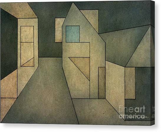 Geometric Abstraction II Canvas Print