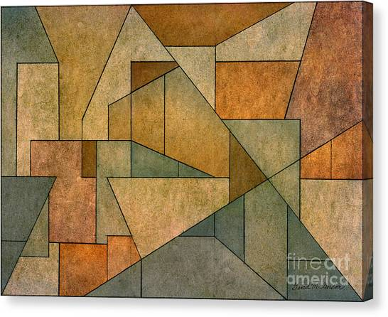 Geometric Abstraction Iv Canvas Print