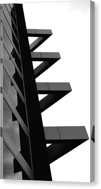 Geometrized Canvas Print