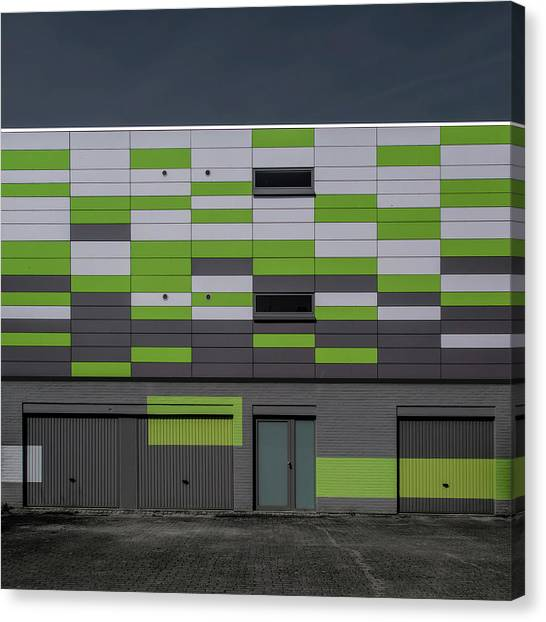Grid Canvas Print - Geometry by Luc Vangindertael (lagrange)