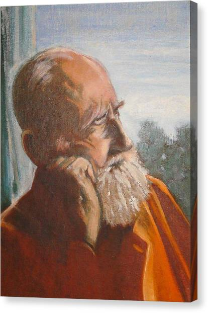 George Bernard Shaw Canvas Print