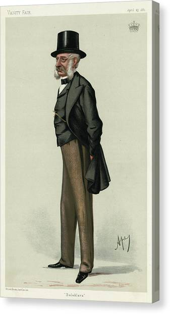 George Charles Bingham 3rd Earl Canvas Print by Mary Evans Picture Library
