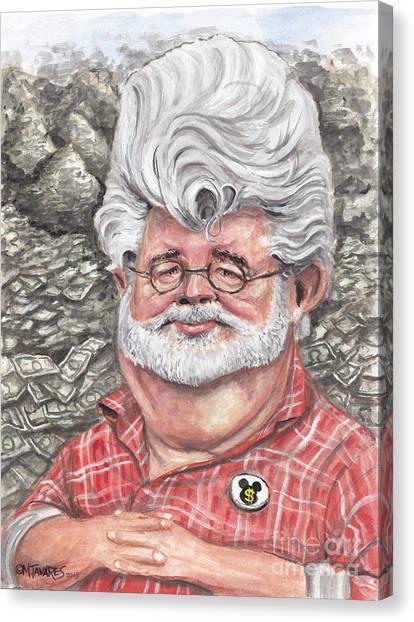 George Lucas Canvas Print