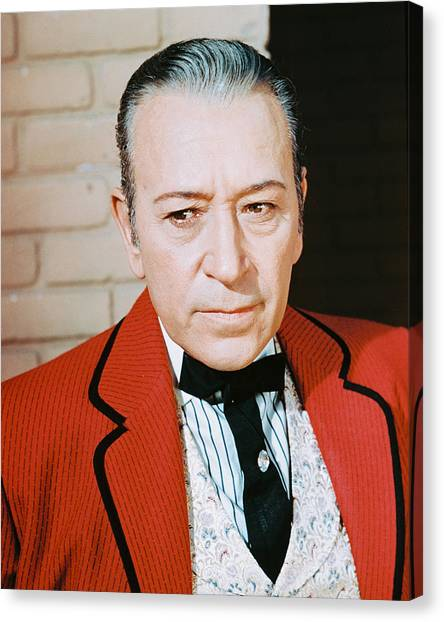George Raft Canvas Print by Silver Screen
