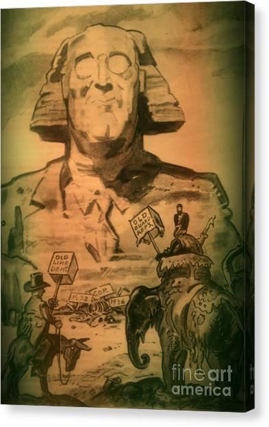 George Washington At His Best Canvas Print