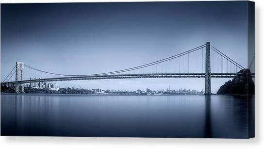 Panorama Canvas Print - George Washington Bridge by