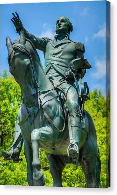 George Washington Monument Canvas Print