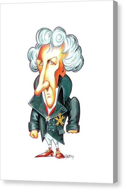 The Legion Canvas Print - Georges Cuvier by Gary Brown
