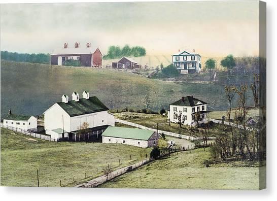 Georges Farm Canvas Print