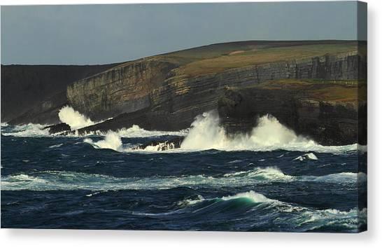 Georges Head Kilkee Canvas Print