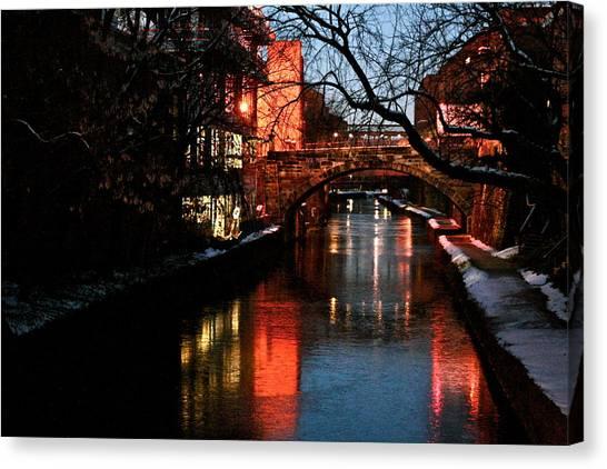 Georgetown Glimmer Canvas Print