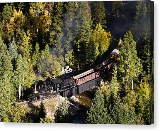 Georgetown Loop Railroad Canvas Print