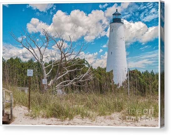 Georgetown Sc Lighthouse Canvas Print