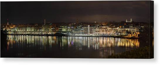 Georgetown Waterfront Canvas Print