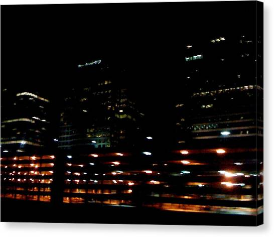 Georgia Lights Canvas Print
