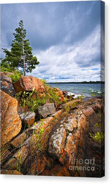 Lake Huron Canvas Print - Georgian Bay by Elena Elisseeva