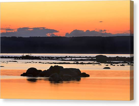 Georgian Bay Sunset-1 Canvas Print