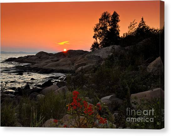 Georgian Bay Sunset Canvas Print
