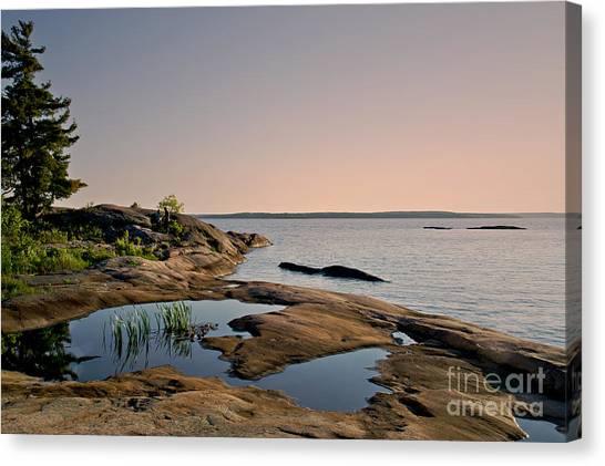 Georgian Bay Twilight Canvas Print