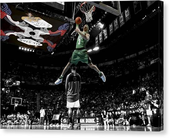 Dwight Howard Canvas Print - Gerald Green by Brian Reaves