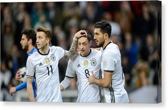 Germany V Italy - International Friendly Canvas Print by Boris Streubel