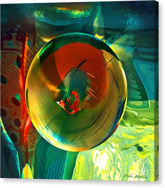 Abstractions Canvas Print - Geronimo  by Robin Moline
