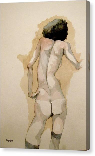 Gertrude Schiele Canvas Print