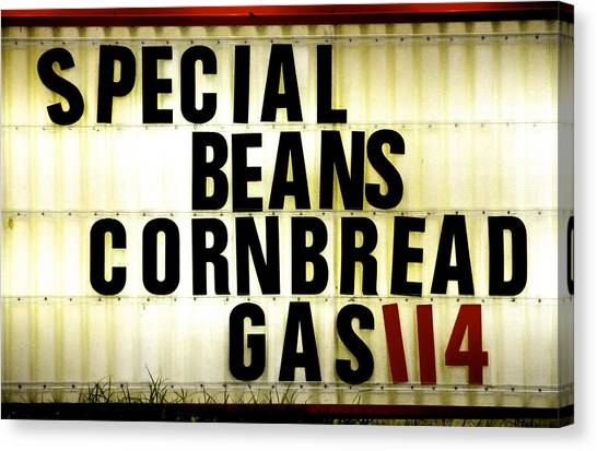 Cornbread Canvas Print - Get What You Pay For by R E Dub