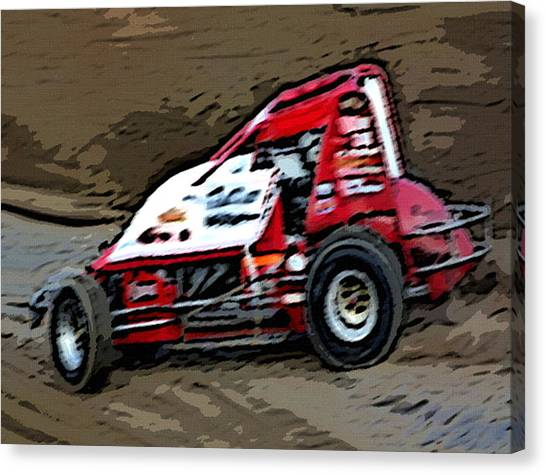 Gettin' With It In The Dirt Canvas Print