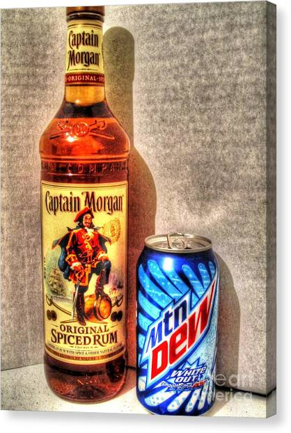 Mountain Dew Canvas Print - Getting By With A Little Help by Jaclyn Hughes Fine Art