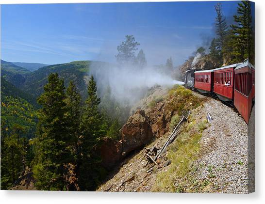 Getting Steamed Canvas Print