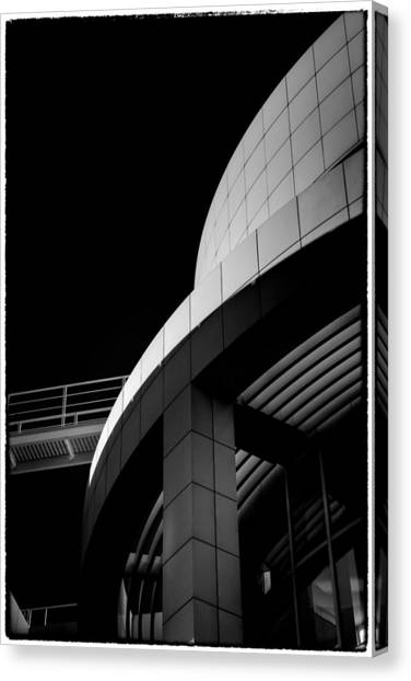 Getty center canvas print getty museum 15 by james a crawford