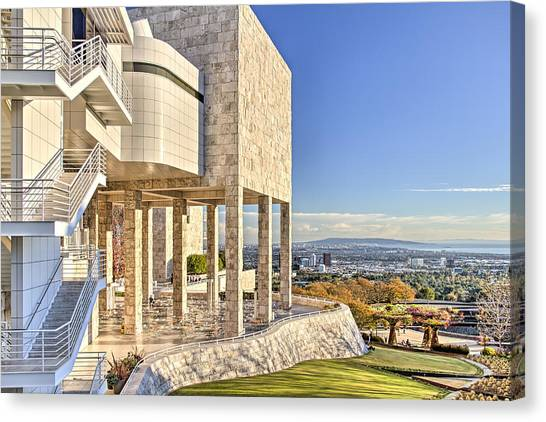 Getty Perspectives 2 Canvas Print