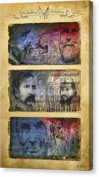 Gettysburg Tribute Canvas Print