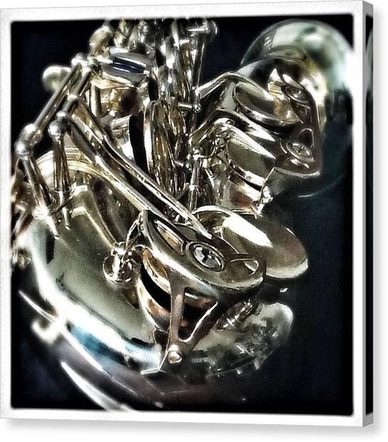 Saxophones Canvas Print - #gf_daily_music_016 @gf_germany by Rafael Kinzig